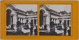 Universal Exhibition of 1900. Courtyard of the Petit Palais, 8th arrondissement, Paris.