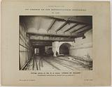 Construction of the Paris municipal metropolitan railway: split undergrounds at the start of line n°3, special …