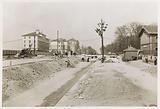 Raising work on Boulevard Jourdan near the Cité internationale universitaire de Paris, 14th arrondissement