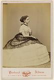Full-length portrait of Mademoiselle Cornelis