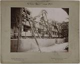 Construction of Old Paris for the Universal Exhibition of 1900, Paris
