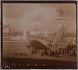 The Alexandre II bridge and the Petit Palais during the Universal Exhibition of 1900, 7th and 8th arrondissements, Paris