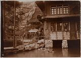 Swiss village, corner of Champ-de-Mars, Universal Exhibition of 1900, 7th arrondissement, Paris
