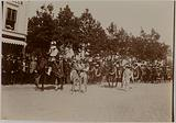 Carnival parade, riders and madmen