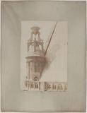 Saint-Eustache church, south-eastern lantern, 1st arrondissement, Paris. 3 April 1895.