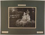 Monument to Watteau in the Luxembourg Gardens, Gauquié Round Bump, 6th arrondissement, Paris