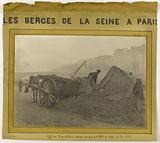 The banks of the Seine in Paris. Fog effect – bank of the Hôtel-de-ville quay.