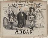 The Testament of Monsieur de Crac. Quadrille by. Arban.