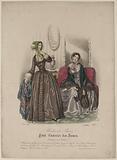 2383. Modes de Paris. Petit Courrier des Dames.