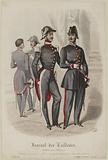 Journal of Tailors. Major surgeon, National guard officer in ceremonial dress.