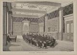 Court of Audit. – Library and council room.