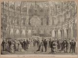 Paris. Charity ball given by the English Society in the salons of the Grand-Hotel.