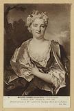 Presumed portrait of Mme Lambert de Thorigny (Marie de Laubespine). Largillierre (Nicolas de).