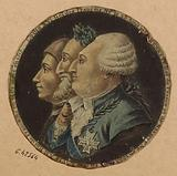 Louis XVI king of the French born on 23 August 1753. Henri IV king of France and Navarre Born in 1555 died in 1610.
