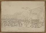Entry of Tsar Alexander I through the Porte Saint-Martin in 1814