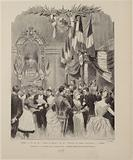 "The ball of the ""Women of France"" and of the ""Territorial Army officers"" at the Opera …"