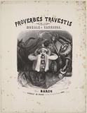 Transvestite proverbs or morality in carnival