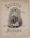 Lucette. Polka-Mazurka by Hubans.