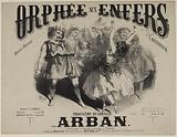 """""""Orphée aux Enfers"""", title page of quadrille score by Arban, after J Offenbach"""