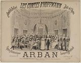 Shiny Quadrille. The Tales of Hoffmann. Balls of the Opera. Arban.