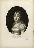 Marie Louise. Archid se of Austria, Empress of France, Queen of Italy.