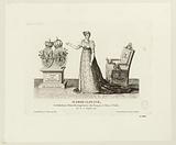 Marie-Louise, Archduchess of Austria, Empress of the French and Queen of Italy. Born 12 December 1791.