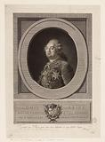 Louis sixteen king of France and Navarre. Born in Versailles on August XXIII, M DCC. LIV.