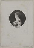Portrait of Mademoiselle Contat (Emilie), of the French Theater, sister of Louise Contat