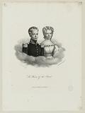 The Duke of Bordeaux and Mademoiselle d'Artois