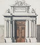 Portal project for the Royal Palace [recto]