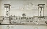 Project for a monument to be erected Place du Carousel