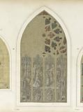 Stained glass project for Guingamp: presentation of the Virgin in the Temple