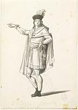 Costume of a French citizen according to David's project of 1794