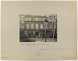 Facade of the building constructed by the foundling hospital, 122 rue du Faubourg-Saint-Antoine, 12th arrondissement, …