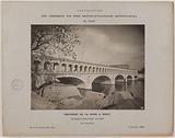 View of the arcades of the Pont de Bercy, 13th arrondissement, Paris