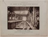 View of the construction of the large span, Gare d'Austerlitz, 13th arrondissement, Paris