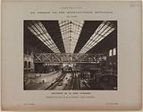 Interior view of the Gare d'Austerlitz in 1906, 13th arrondissement, Paris