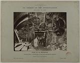 Construction of the Paris municipal metropolitan railroad: construction at the entrance to the place of adjoining …
