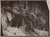 Construction of the Paris municipal metropolitan railway: woodwork in the sewers of Boulevard Magenta, 9th and 10th …