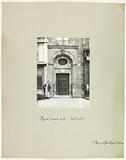 Sculpted portal, 8 rue du Fouarre, 5th arrondissement, Paris