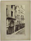 Entrance to the Red Castle, rue Galande, 5th arrondissement, Paris