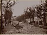 Work or passage of the viaduct under Boulevard de la Villette, 19th arrondissement, Paris
