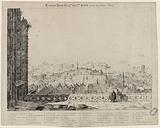 Old Paris from the 14th to the 15th Century, seen from the Notre-Dame towers