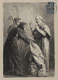 [Les Misérables, Part 1, Book 1, Chapter VII] Tie à Monseigneur Bienvenu