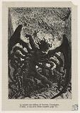 [The Punishments, VII, XVI: Ultima Verba] The monster with millions of mouths, the impalpable, The infinite, rushed on …