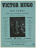 Poster for Victor Hugo and his time, by Alfred Barbou
