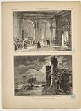 [The King has fun] L'Illustration, 40th year, n°2074, 25 November 1882