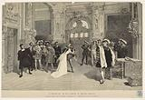 """The resumption of """"The King amuses himself, at the French Theater: Blanche leaving the room of François Ier"""""""