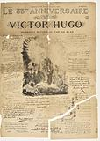 The 83rd birthday of Victor Hugo, tributes collected by Gil Blas