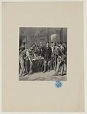 Acts and words, From exile, Paris and Rome. Invasion of Victor Hugo's apartment, Place Royale, by rioters in June 1848.